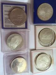 10 DM Münzen (