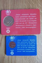 2 Olympische Medaillons