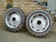 2 Traktorreifen + Felge