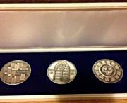 3 Medaillen 1000/