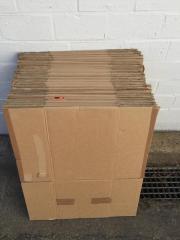 32x gebrauchte Kartons