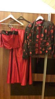 3teiliges Abendkleid
