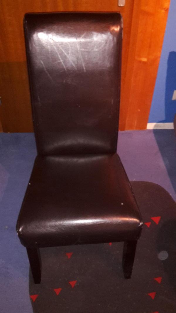 Esszimmerstühle Kunstleder Kaufen | Gebraucht Und Günstig, Esszimmer