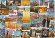 4 farbige Ansichtskarten
