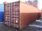 40 Fuss Lagercontainer,
