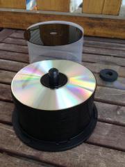 46x schwarze CD-