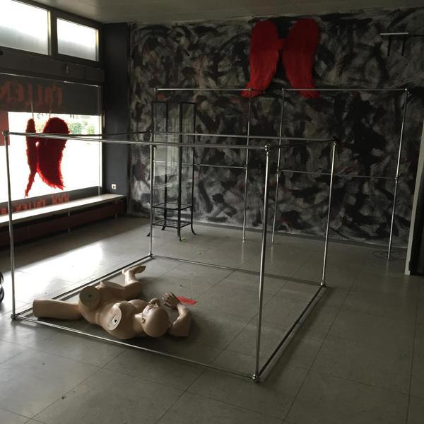 51 m kleiderstangen system f r ladeneinrichtung in f rstenfeldbruck gastronomie - Kleiderstangen systeme ...