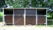 6x3m doppel Außenboxen