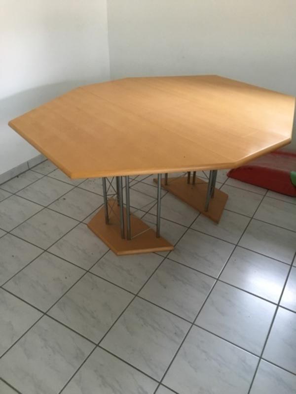 esszimmertisch mit 8 stuhlen kaufen gebraucht oder neu. Black Bedroom Furniture Sets. Home Design Ideas