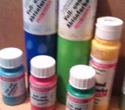 Abtönfarben verschiedene Farben/
