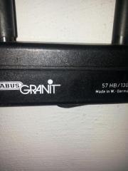ABUS , Granit-Bügelschloss