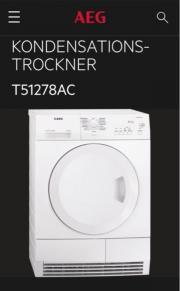 AEG Kondenstrockner T51278C