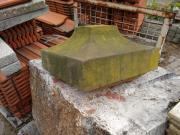 alte Sandstein-Pfosten-