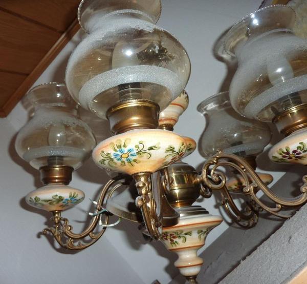 Alter Kronleuchter L Ster Lampe Chandelier Mit