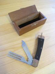 altes Gabelmesser, Taschenmesser,