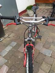 Alurahmen Fahrrad silber