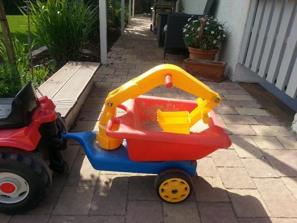 anh nger h nger f r traktor bobbycar bagger schaufel in hringen kinderfahrzeuge kaufen. Black Bedroom Furniture Sets. Home Design Ideas