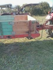 Anhänger Holzwagen Einachser