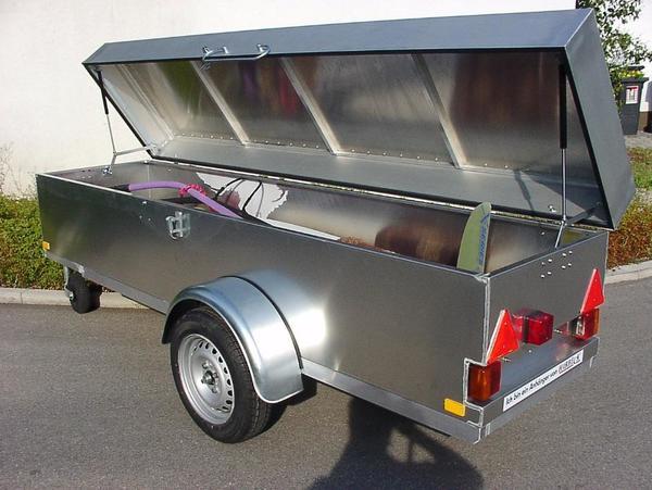 pkw trailer gebraucht kaufen nur noch 2 st bis 75. Black Bedroom Furniture Sets. Home Design Ideas