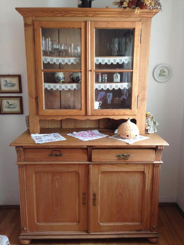 anrichte buffet antik in ilvesheim stilm bel bauernm bel kaufen und verkaufen ber. Black Bedroom Furniture Sets. Home Design Ideas