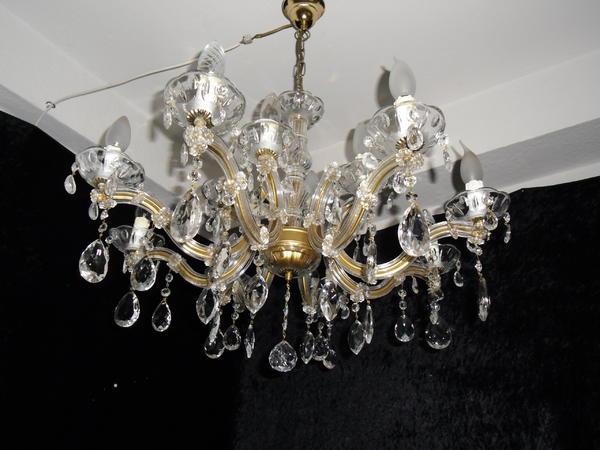 antik kristall kronleuchter in bonn lampen kaufen und verkaufen ber private kleinanzeigen. Black Bedroom Furniture Sets. Home Design Ideas