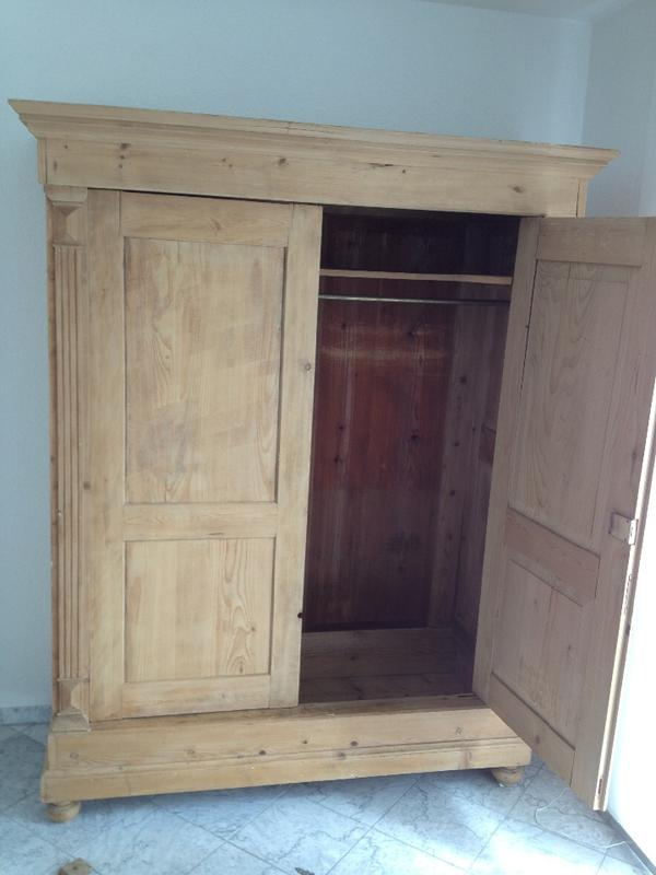 antike weichholzschrank biedermeier in lorsch schr nke antiquarisch kaufen und verkaufen ber. Black Bedroom Furniture Sets. Home Design Ideas