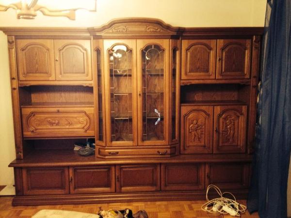 89 wohnzimmerschrank landhausstil gebraucht. Black Bedroom Furniture Sets. Home Design Ideas