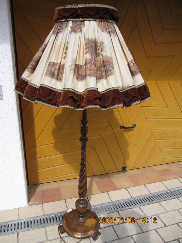 schirm stehlampe neu und gebraucht kaufen bei. Black Bedroom Furniture Sets. Home Design Ideas