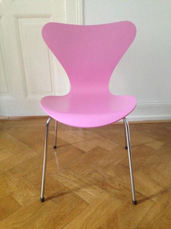 arne jacobsen fritz hansen 3107 stuhl rosa in stuttgart designerm bel klassiker kaufen und. Black Bedroom Furniture Sets. Home Design Ideas