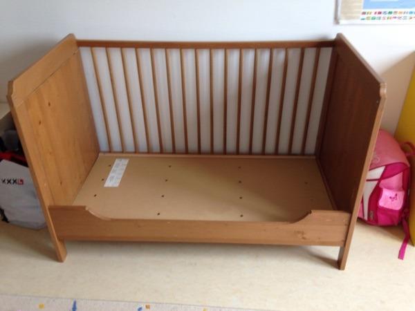 Kinderbetten ikea neu und gebraucht kaufen bei for Kinderbett mit funktion