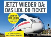 Bahnticket - Lidl-Ticket