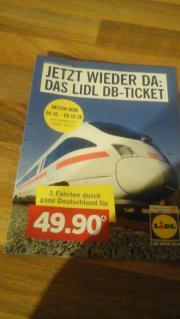 Bahnticket von Lidl