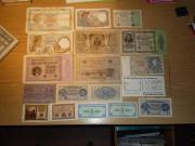 Banknoten alte , Frankreich,