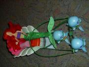 Barbie-Delphinkutsche+Meerjungfrau