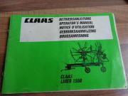 Betriebsanleitung Claas Liner