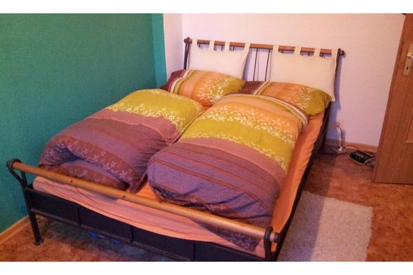 bett metallgestell 140x200 inkl lattenrost in fl rsheim. Black Bedroom Furniture Sets. Home Design Ideas