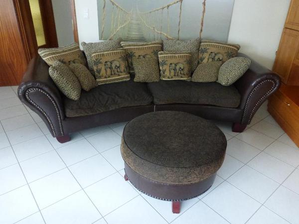 big sofa afrika in walldorf polster sessel couch kaufen und verkaufen ber private kleinanzeigen. Black Bedroom Furniture Sets. Home Design Ideas