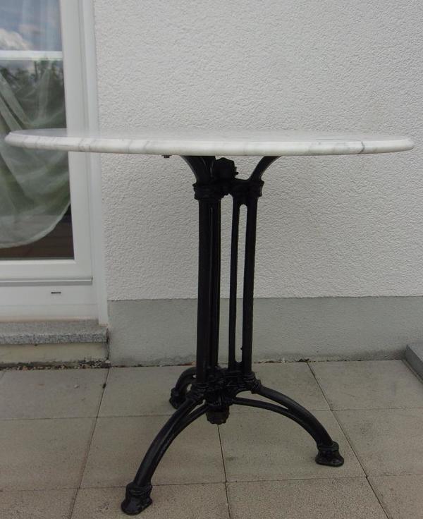 Bistrotisch marmor in ellerstadt dekoartikel kaufen und for Marmor bistrotisch