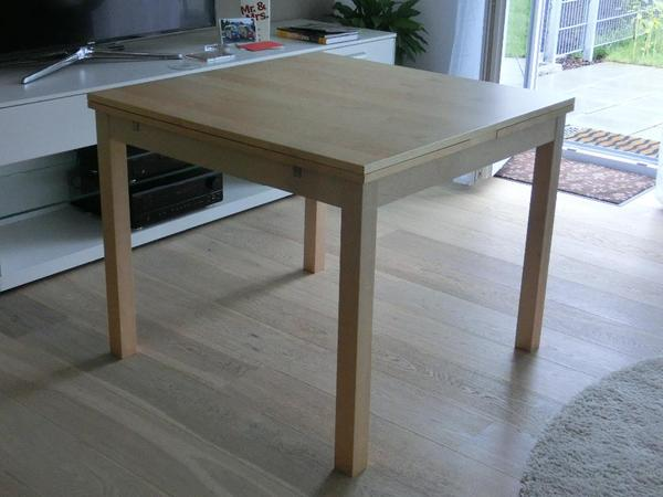bjursta ausziehtisch ikea in aschaffenburg. Black Bedroom Furniture Sets. Home Design Ideas
