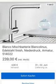 Blanco- Spültischbattarie- Verkauf