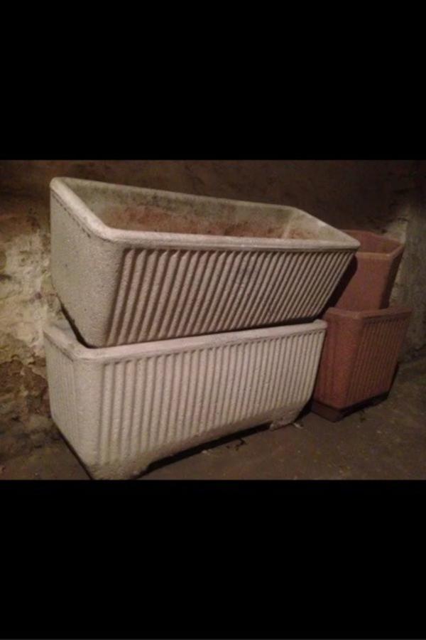 blumentrog blumenkasten blumenk bel in mannheim sonstiges f r den garten balkon terrasse. Black Bedroom Furniture Sets. Home Design Ideas