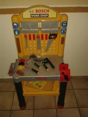 kinderwerkbank bosch kinder baby spielzeug g nstige angebote finden. Black Bedroom Furniture Sets. Home Design Ideas