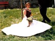 Brautkleid, Gr.: 38,