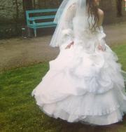 Brautkleid (Korsett und