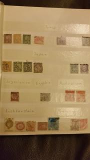 Briefmarken aus altsammlung