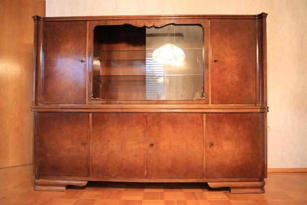 buffet vitrine kaufen gebraucht und g nstig. Black Bedroom Furniture Sets. Home Design Ideas