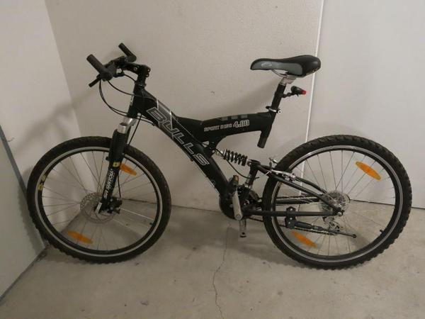 bulls sport disc mountainbike 26 zoll schwarz silber. Black Bedroom Furniture Sets. Home Design Ideas