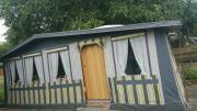Camping,Wohnwagen,mit