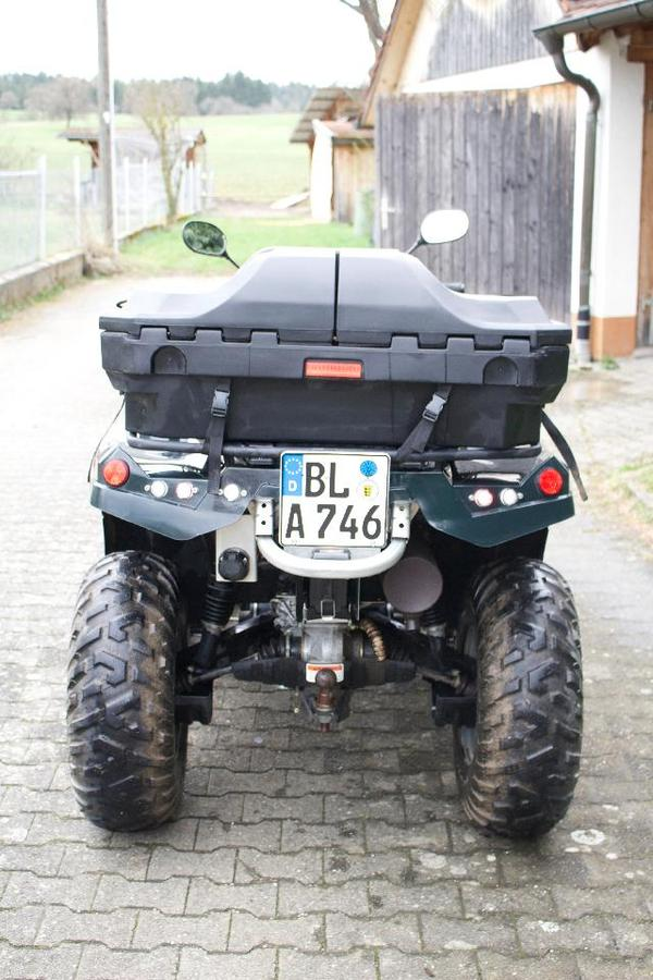 bild 6 quads atv all terrain vehicles canam outlander 400 quad gebraucht. Black Bedroom Furniture Sets. Home Design Ideas