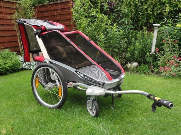 chariot cougar 1 fahrradanh nger. Black Bedroom Furniture Sets. Home Design Ideas